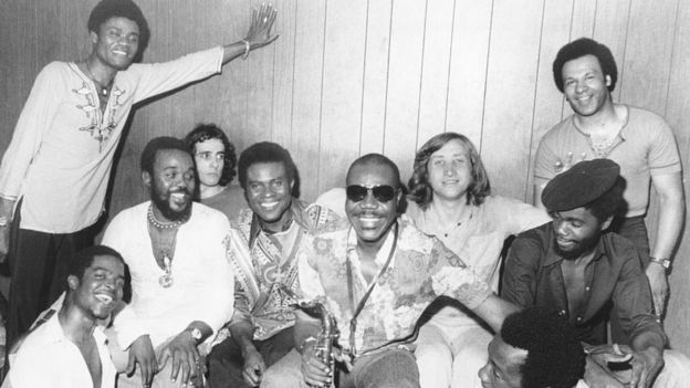 Archive shot of Manu Dibango