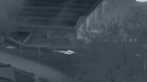 امواج فروسرخ نشان داد سربازان کره جنوبی، سرباز فراری کره شمالی را با خود بردند