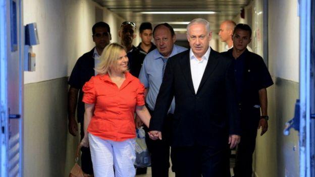 El primer ministro y su esposa