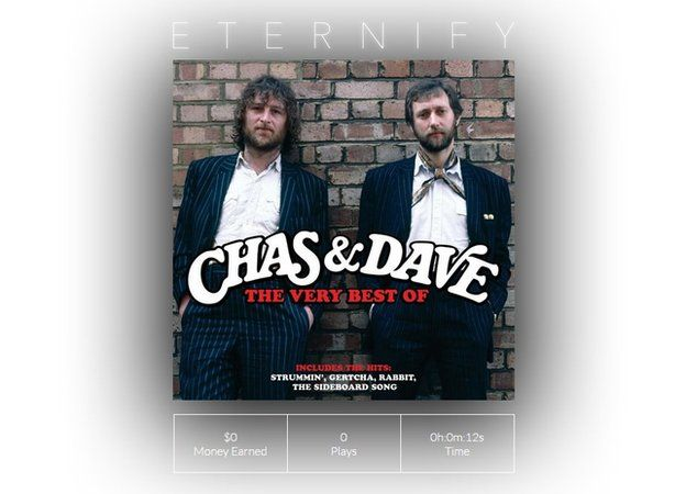 Chas n Dave album on Eternify