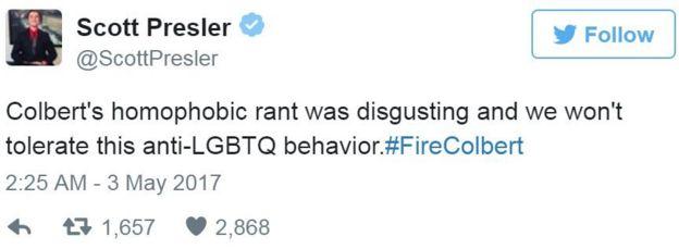 Screen grab of tweet by @ScottPresler