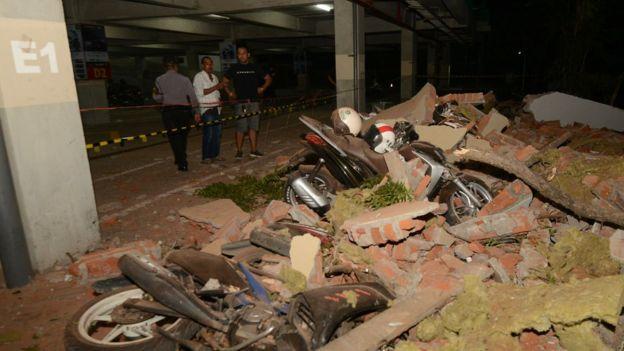 Kerusakan di Bali