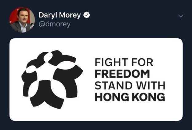 El tuit de Daryl Morey