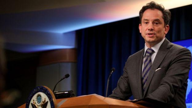 ABD Dışişleri Bakanlığı Sözcüsü Robert Palladino