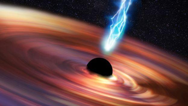 หลุมดำมีแรงโน้มถ่วงที่ทรงพลังจนไม่มีสิ่งใดสามารถหลุดรอดออกไปได้