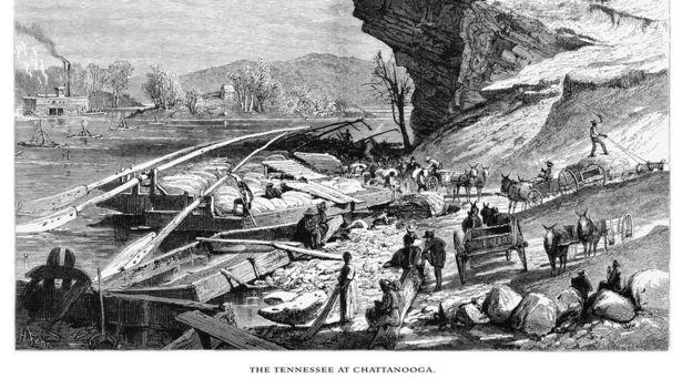 Chattanooga en 1872