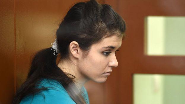 Varvara Karaulova, acusada de tentar se unir ao EI
