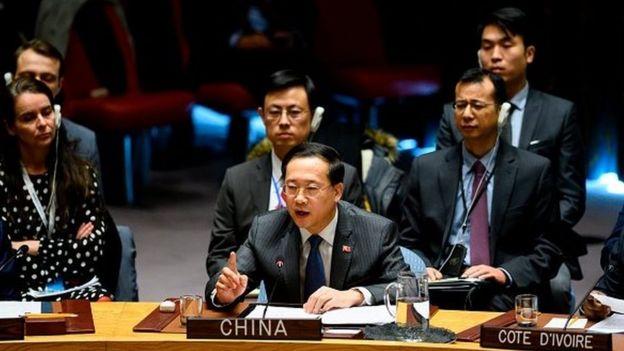 سفیر چین در سازمان ملل