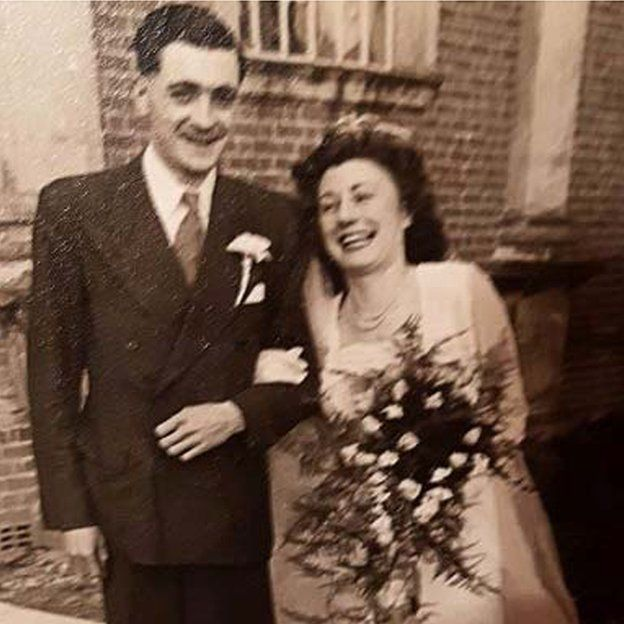 John Rowlands and his wife