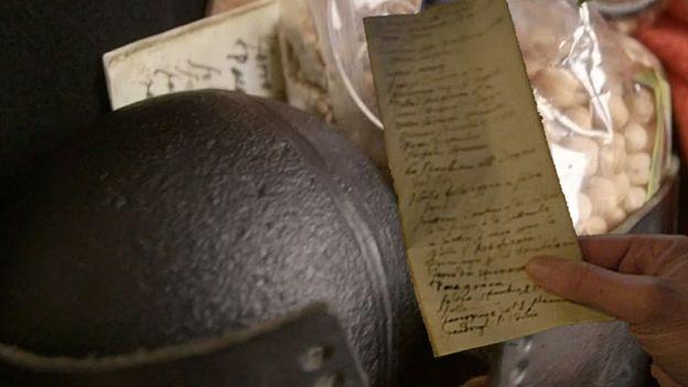 Lista y algunos de sus ítems
