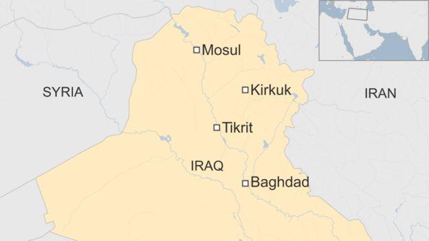 Iraqi civilians killed as IS militants attack Tikrit BBC News