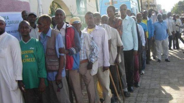 Shacabka Somaliland oo saf ugu jira inay doortaan madaxweyne
