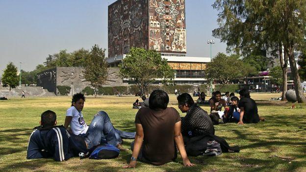 Estudiantes de la UNAM