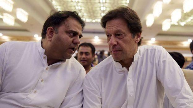 عمران خان اور فواد چوہدری
