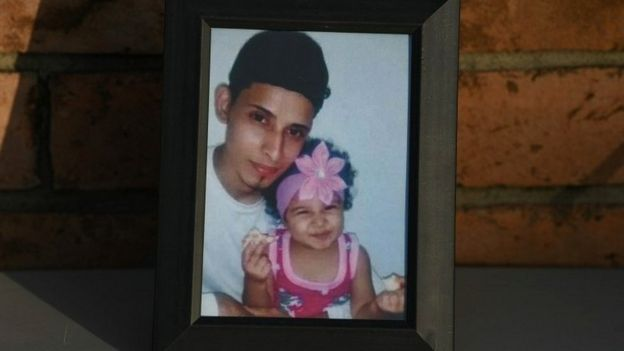 Salvadoran migrant Oscar Alberto Martinez Ramirez and his 23 month-old daughter Valeria, who drowned crossing the Rio Grande at the U.S.-Mexico border, are remembered during a vigil in their honour in Brownsville, Texas, U.S., June 30, 2019