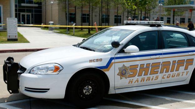 Harris County Sheriff department vehicle