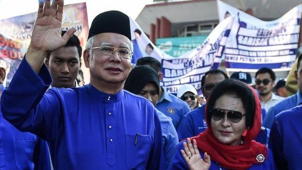 نجیب رزاق، نخستوزیر سابق مالزی