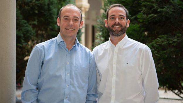 Aleix Prat (izq.) y Joaquín Gavilá,