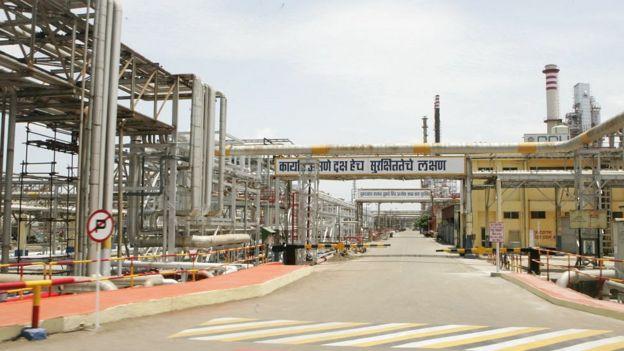 پالایشگاه نفتی هند