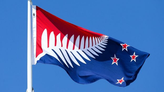 New Zealand Chooses New Flag As Preliminary Winner BBC News - New zealand flags