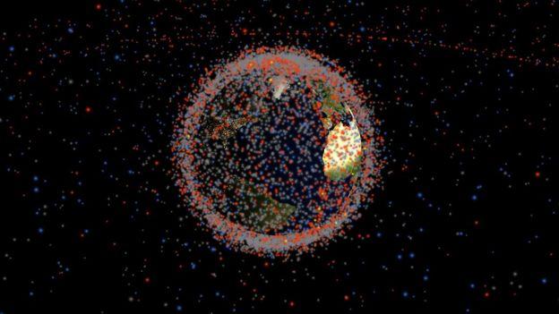 Pantallazo de Stuff in Space, página web creada por James Yoder.