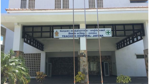 Nearly 60 men and women were killed in the attack on Jaffna hospital