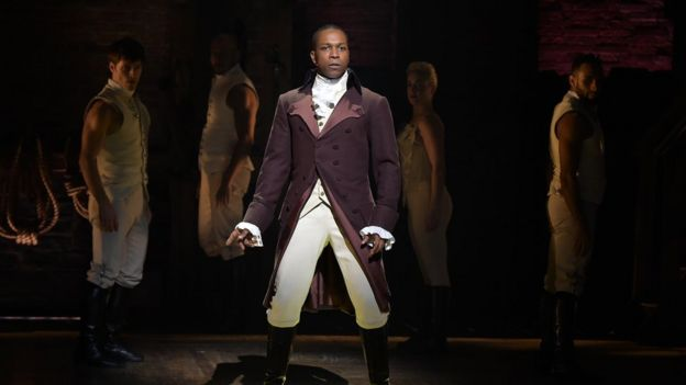 Leslie Odom Jr appeared in the Broadway version
