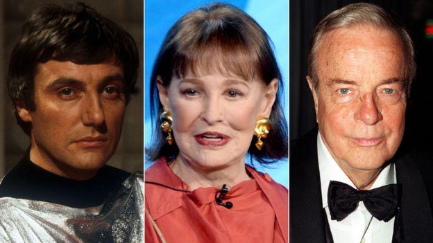 Paul Darrow, Gloria Vanderbilt and Franco Zeffirelli