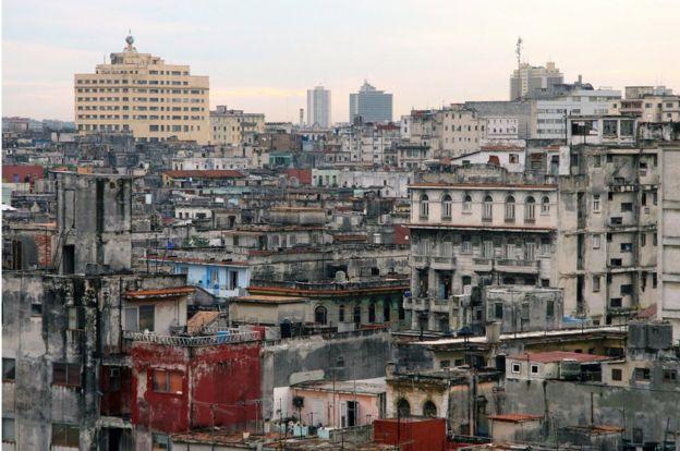 Vista de la Vieja Habana