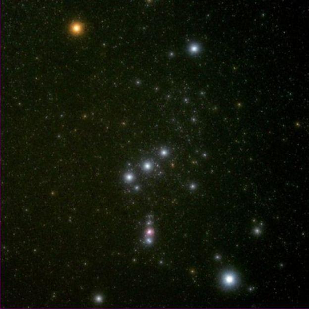 Estrellas de la Constelación de Orión