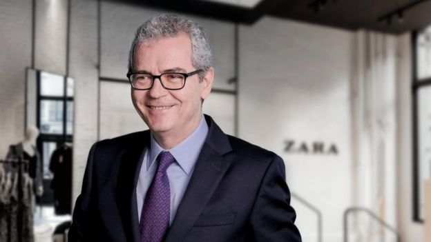 Zara chief executive Pablo Isla