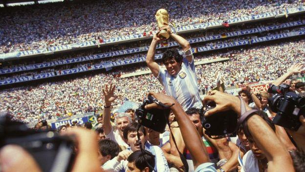 馬拉多納是阿根廷足球的象徵。