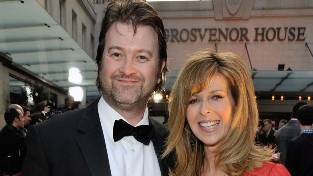 Kate Garraway with Derek Draper in 2009