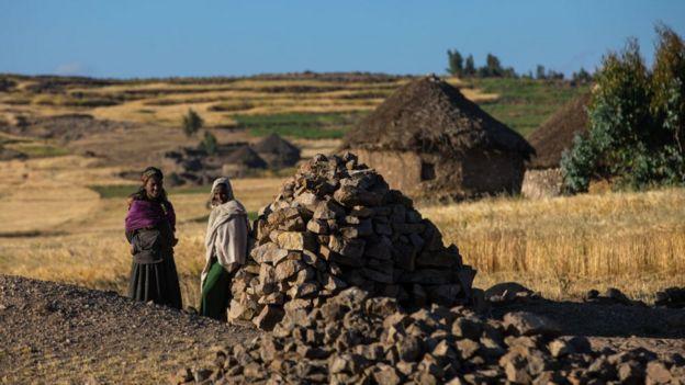 Amhara'da iki kadın