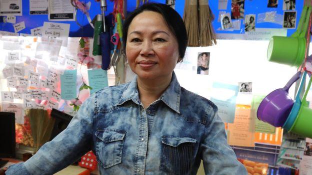 Carina Hoang trong vai Iris, của phim truyền hình nhiều kỳ The Heights của ABC