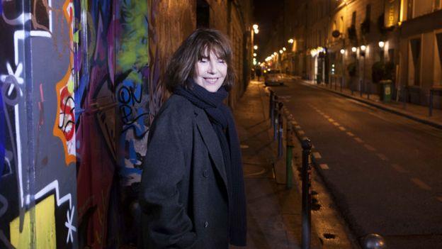 Jane Birkin now in Paris