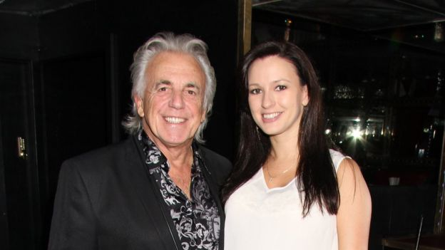 Peter Stringfellow and wife Bella in 2013