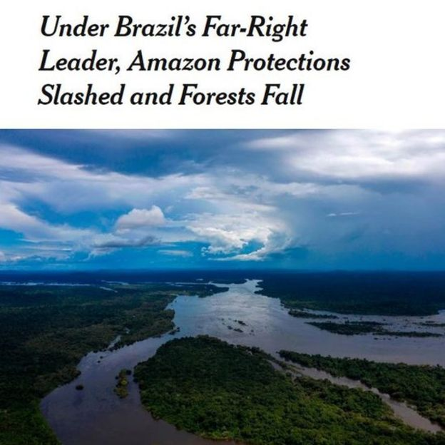 Artigo do The New York Times sobre Brasil