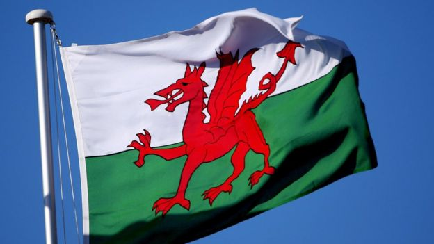Валлийский флаг