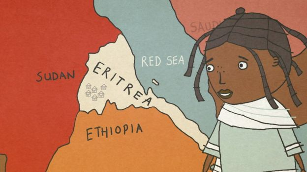 Ruth lived in Eritrea