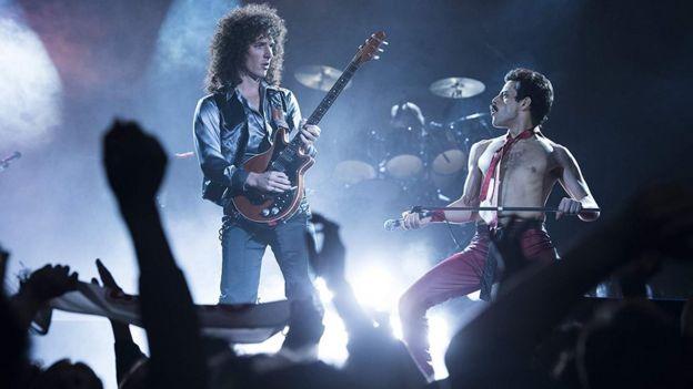 Escena de la película Bohemian Rhapsody.