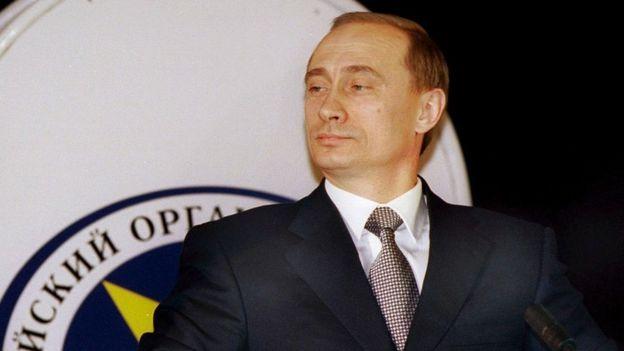Vladimir Putin em 1999
