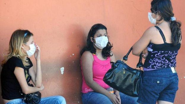 Mulheres brasileiras durante pandemia de H1N1 no Brasil em 2009
