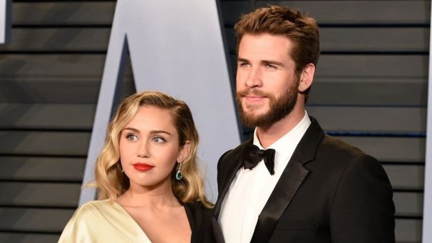 Who is miley cyrus dating with a disability
