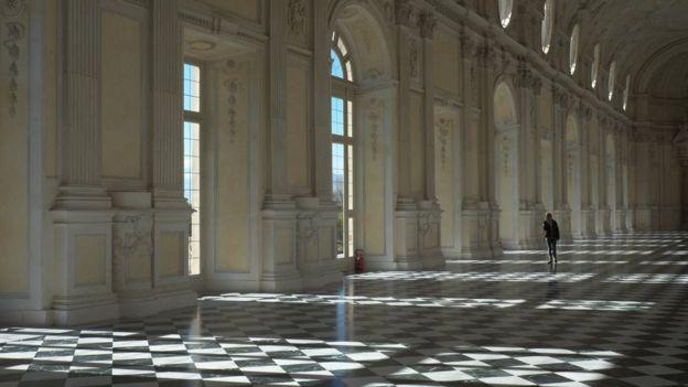 La Galleria Grande, Palazzo Venaria, Turin, Ý