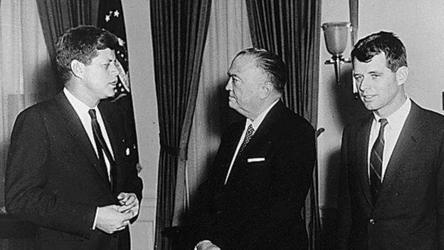 約翰·肯尼迪總統執政期間,羅伯特·肯尼迪擔任司法部長。
