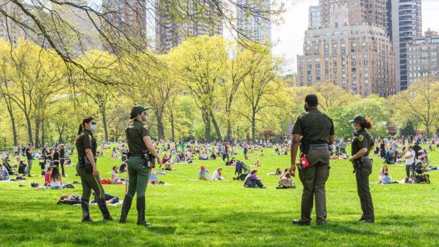 Вежливая полиция на Манхэттене