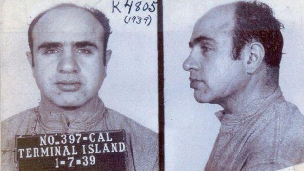 Deirdre Capone cuenta que la situación de sus tíos empeoró cuando Al Capone fue condenado por evasión fiscal. (Foto: FBI)