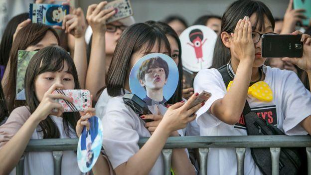 Penggemar K-pop.