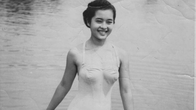 记得缅甸小姐克伦族花木兰吗?